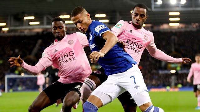 Everton vs Leicester City Highlights