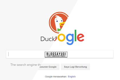 Mengganti Google Search dengan DuckDuckGo - Gak ada lagi blokir Informasi