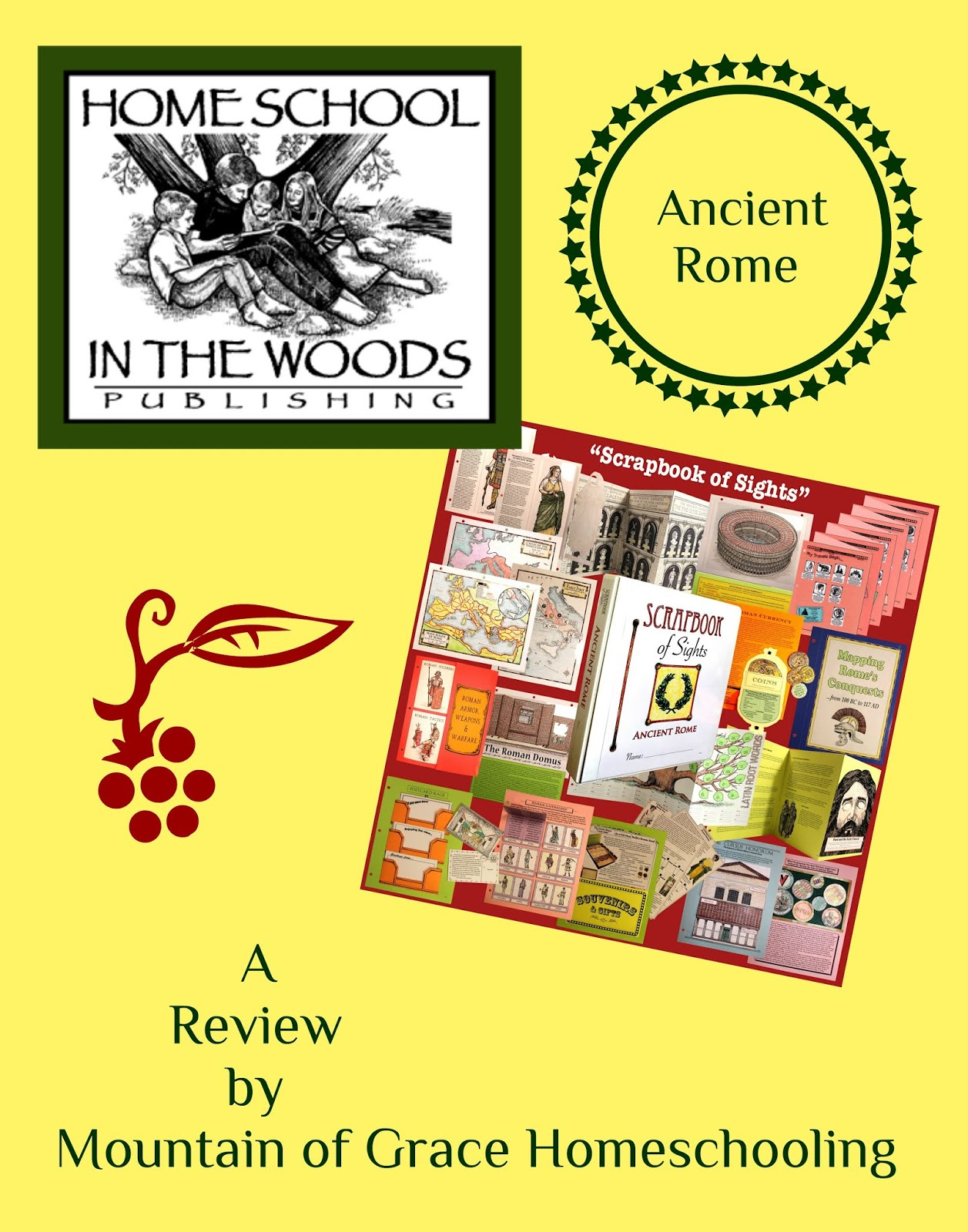 Mountain of Grace Homeschooling: Review~ Project Passport World History  Study: Ancient Rome from Home School in the Woods [ 1600 x 1257 Pixel ]