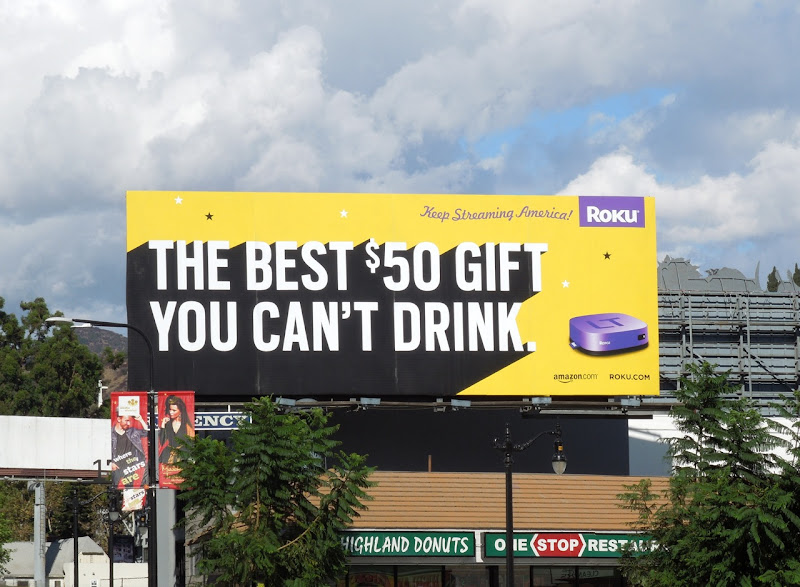 best $50 gift Roku billboard