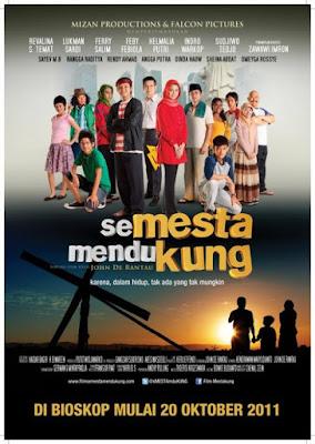 Poster Film Semesta Mendukung