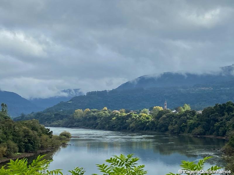 rio Taquari em Santa Tereza