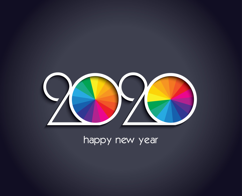 Advance Happy New Year 2020 - Dorințe de Anul Nou fericit