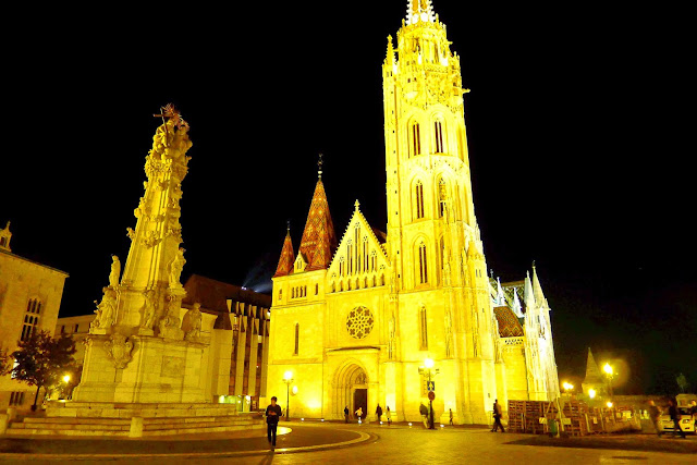 Matthias Church at Night