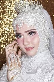 hijab pengantin 2021