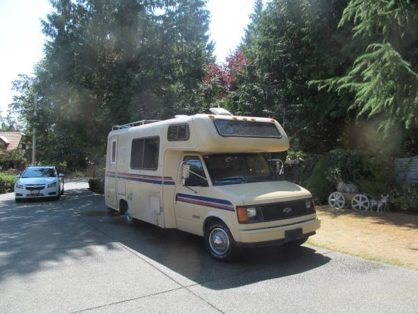 used rvs 1987 astro motorhome for sale for sale by owner. Black Bedroom Furniture Sets. Home Design Ideas