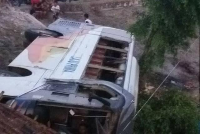 Di Jalanan Semarang - Purwodadi Bus Ini Banting Stir Terjun ke Jurang, Semua Penumpang Ucap 'Allahu Akbar'