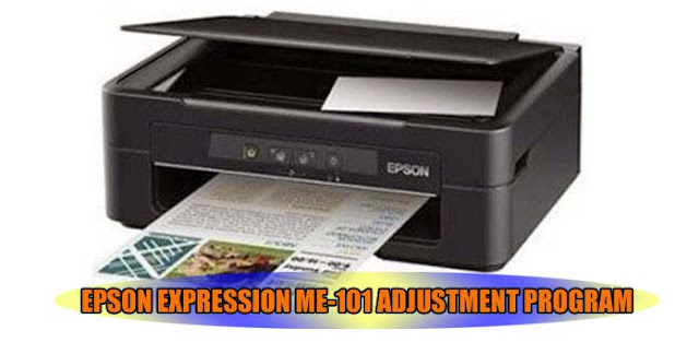 EPSON EXPRESSION ME-101 PRINTER ADJUSTMENT PROGRAM