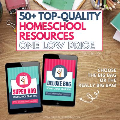 Homeschool Grab Bag Digital Resources