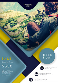 Tutorial 2 - Design Travel Company Template Design in Canva