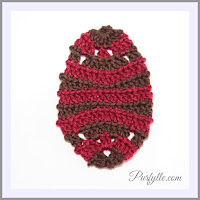 Decorative Easter Egg Back Loop Crochet Pattern 2