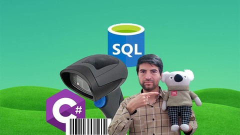Using Barcode Scanner in C# and SQL, SQL Server Database