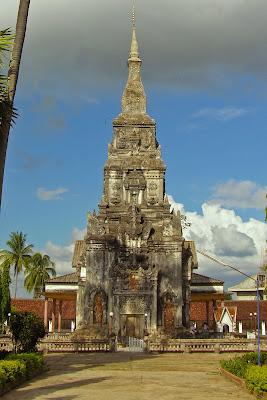 That Ing coup Stupa (Stupa En HengAdd) à Savannakhet