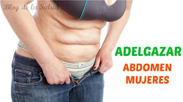 Que hacer para adelgazar el abdomen