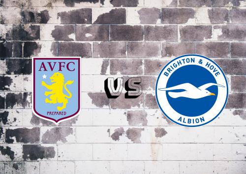 Aston Villa vs Brighton & Hove Albion  Resumen