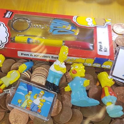 The Simpsons amusement arcade prizes