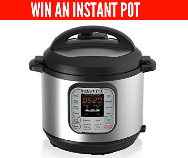 Enter to WIN the Infamous Instant Pot PLUS Apron
