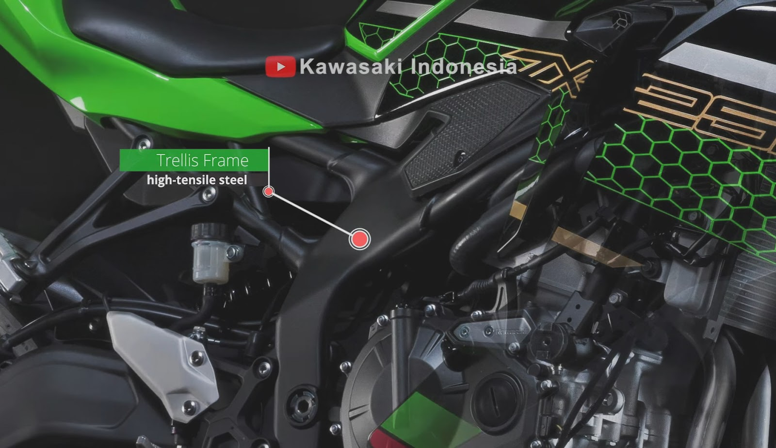 Penampakan perdana Kawasaki Ninja ZX-25R !