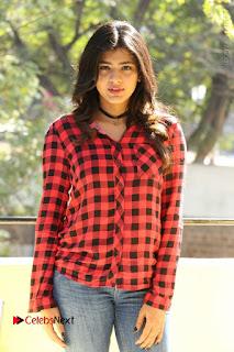 Actress Hebah Patel Stills in Blue Denim Jeans at Nanna Nenu Naa Boyfriends Movie Success Meet  0066.JPG