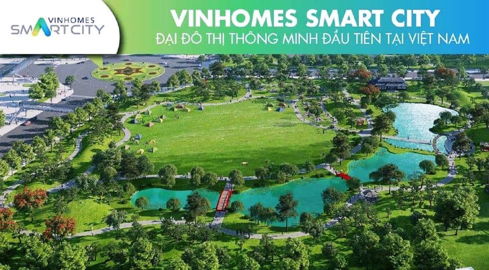 Môi trường sống đẳng cấp của đại đô thị Vinhomes Smart City