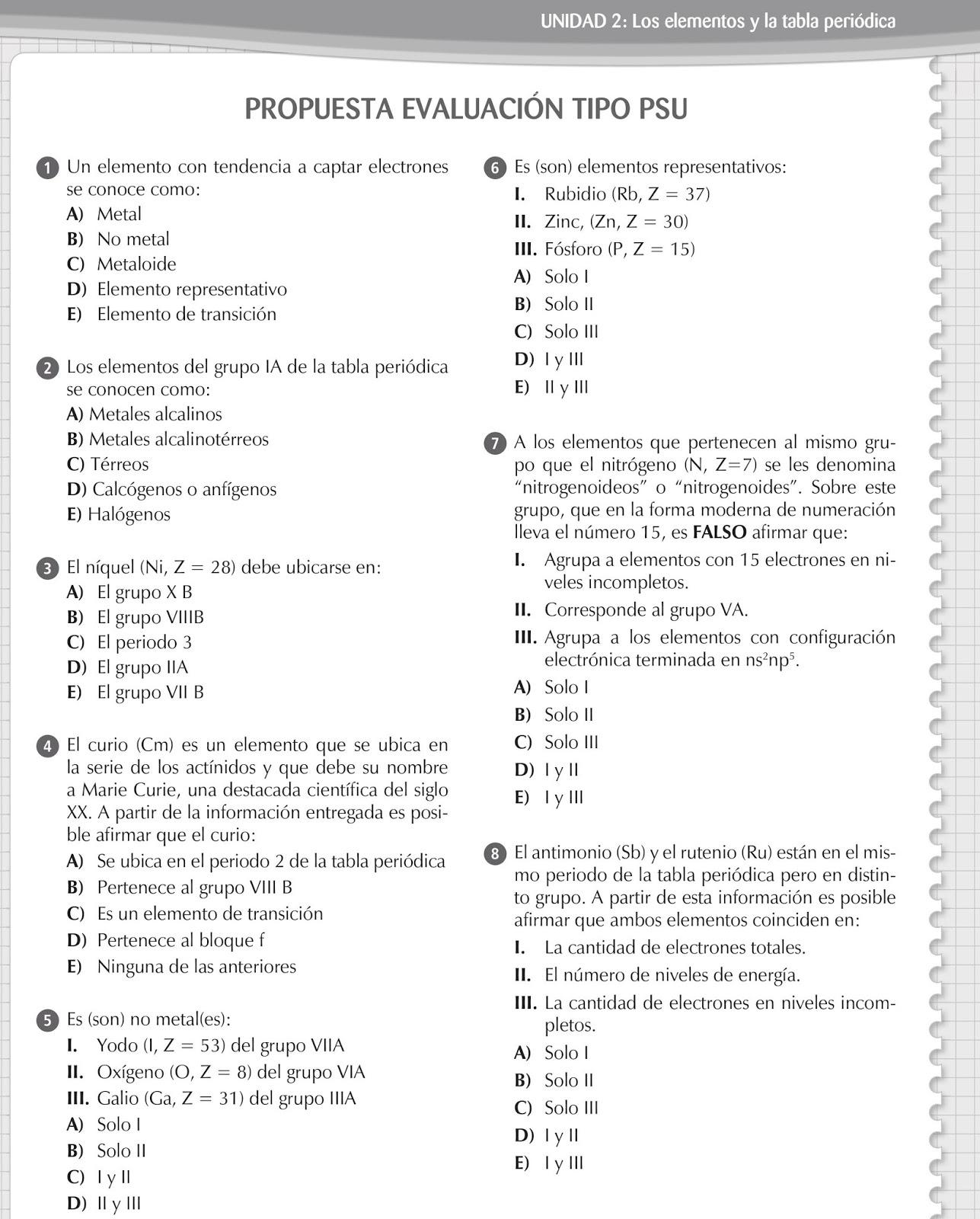 Qumica general i prof keiber marcano unidad 2 los elementos y blog elaborado por prof keiber marcano urtaz Image collections
