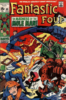 Fantastic Four #89, the Mole Man