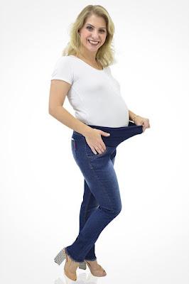 Calça Jeans para Gestante