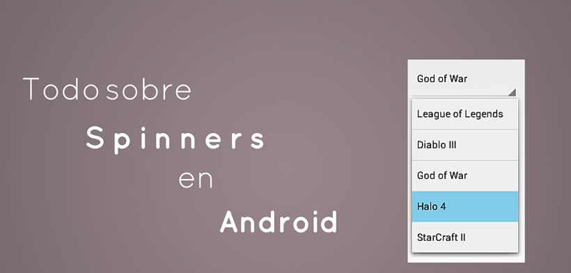Tutorial sobre Spinners en Android