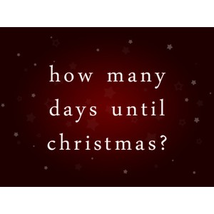 how many more days. Black Bedroom Furniture Sets. Home Design Ideas