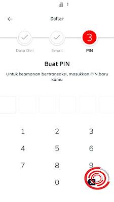 Terakhir silakan kalian masukan PIN akun LinkAja kalian dan pada langkah ini kalian sudah berhasil mendaftar LinkAja