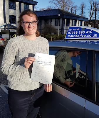 Shona Candlish Driving Test Pass