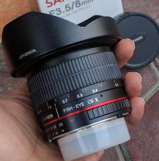 Lensa Samyang f3.5/8mm CS II UMC For Nikon