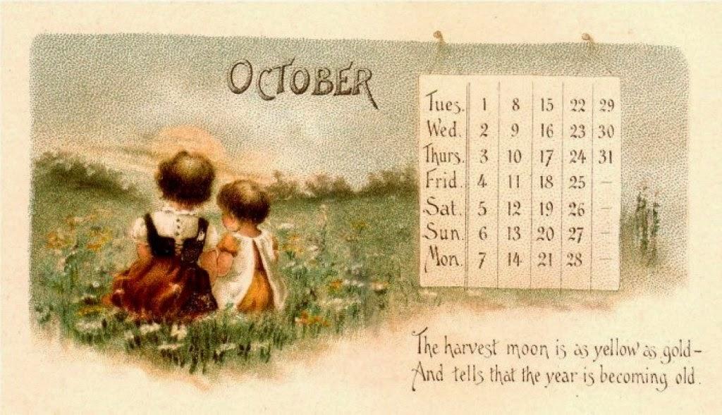 calendarios, antiguos, vintage, imágenes, posters, diseño