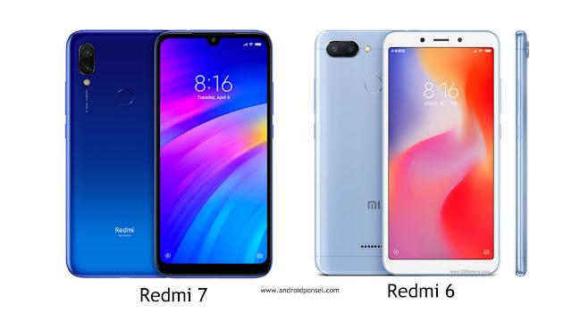 Perbandingan Spesifikasi Redmi 7 dan Redmi 6, Lengkap!