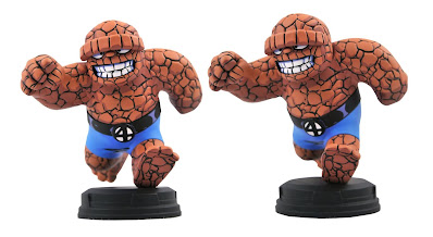 The Thing Animated Marvel Mini Statue by Skottie Young x Gentle Giant x Diamond Select Toys
