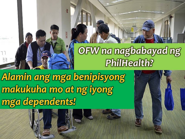 As an Overseas Filipino Worker (OFW) it is important that you are prepared with health insurance that you can lean on in times of emergency, not just for yourself, but also for your dependents here in the Philippines.  Here in the Philippines, the most common health care insurance program is the Philhealth from the government. As OFW, you are encouraged to be an active member to fully enjoy its benefit.