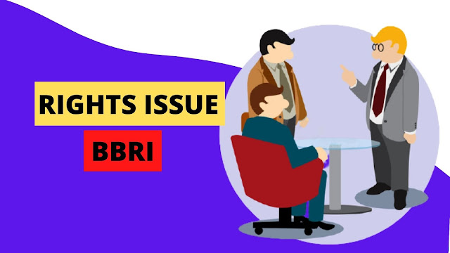 Rights Issue BRI