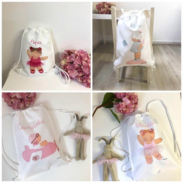 mochilas personalizadas para niños