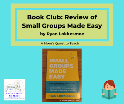 Small Groups Made Easy book jacket