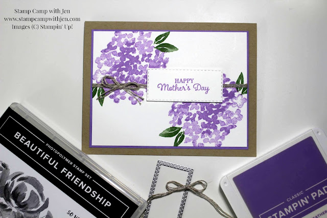 Pals Blog Hop Country Chic Hydrangea Mother S Day Card
