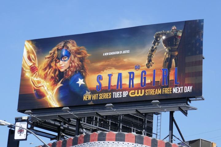 Stargirl series premiere billboard