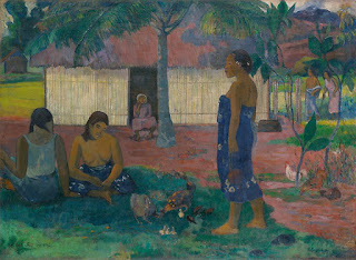 Paul Gauguin -Why are you angry?,1896.