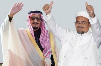 Kisah Raja Salman dan Habib Rizieq yang Tak Terungkap Ke Publik