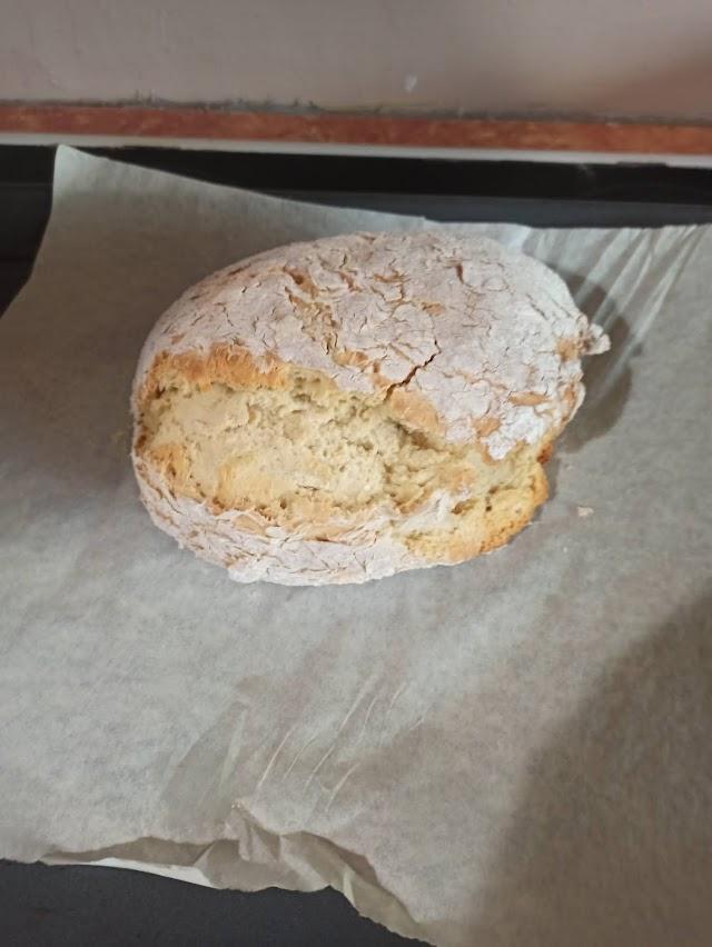 ψωμι απο γαλα με μπεικιν παουτερ
