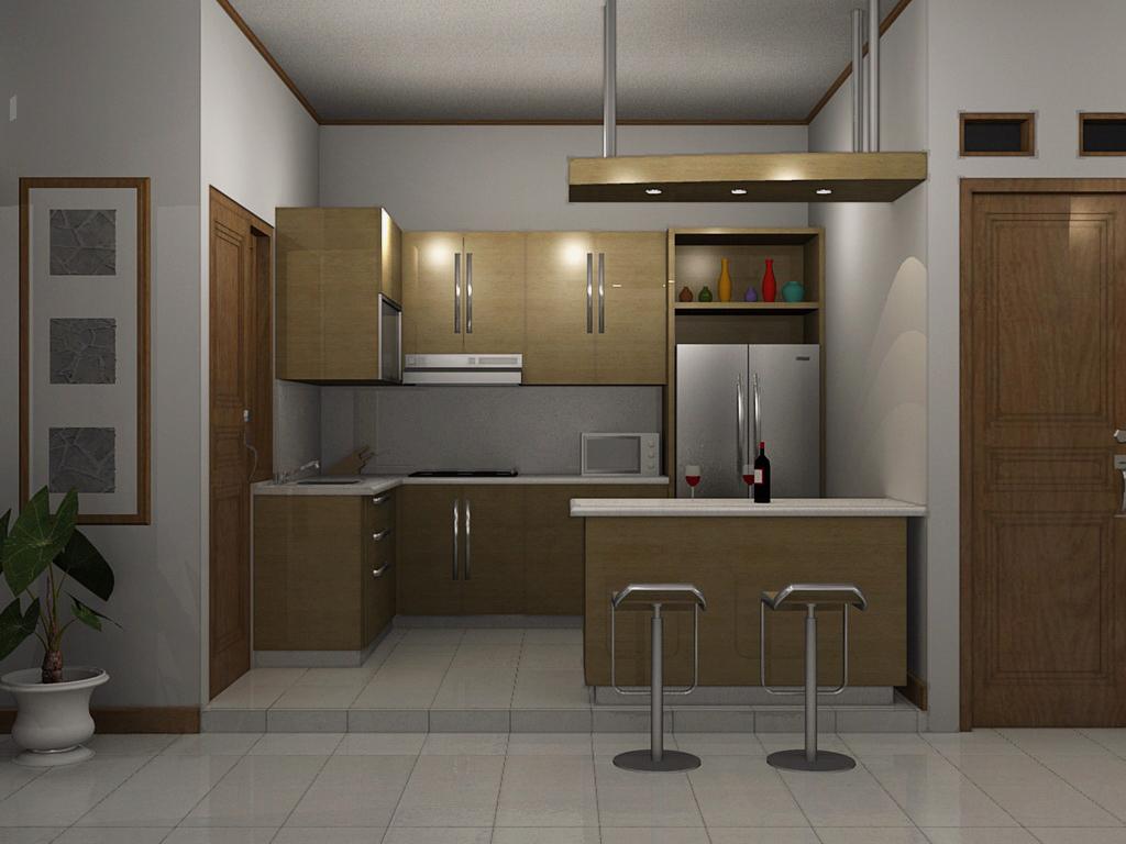 Tips Membuat Agar Dapur Rumah Minimalis Harum  Gambar dan