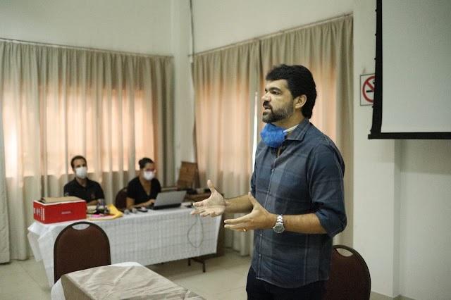 Prefeito Rogério Andrade se reúne com representantes das indústrias locais