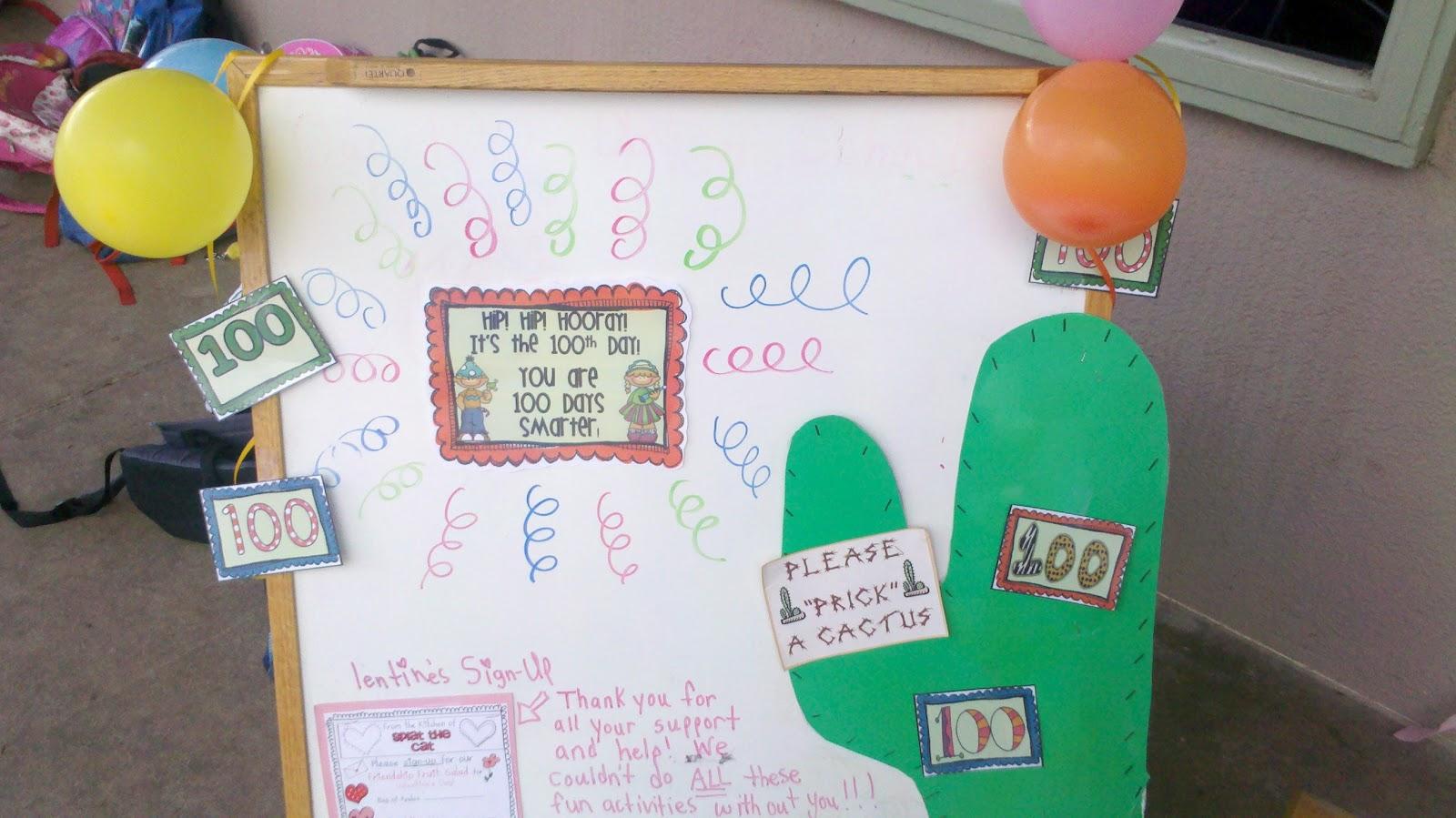 Kinderworld 100th Day Of School