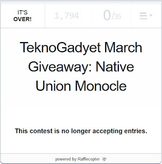 Native Union Monocle Giveaway