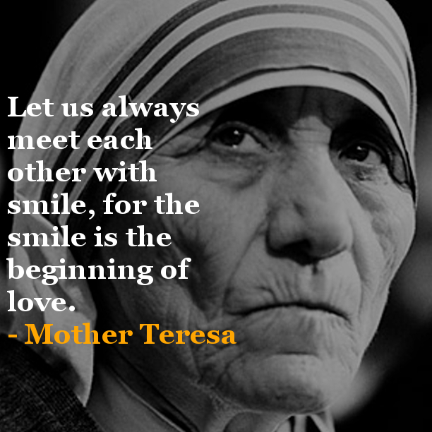 Quote From Mother Teresa: Monday Inspiration LunchBOX