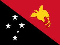 Logo Gambar Bendera Negara Papua Nugini PNG JPG ukuran 200 px
